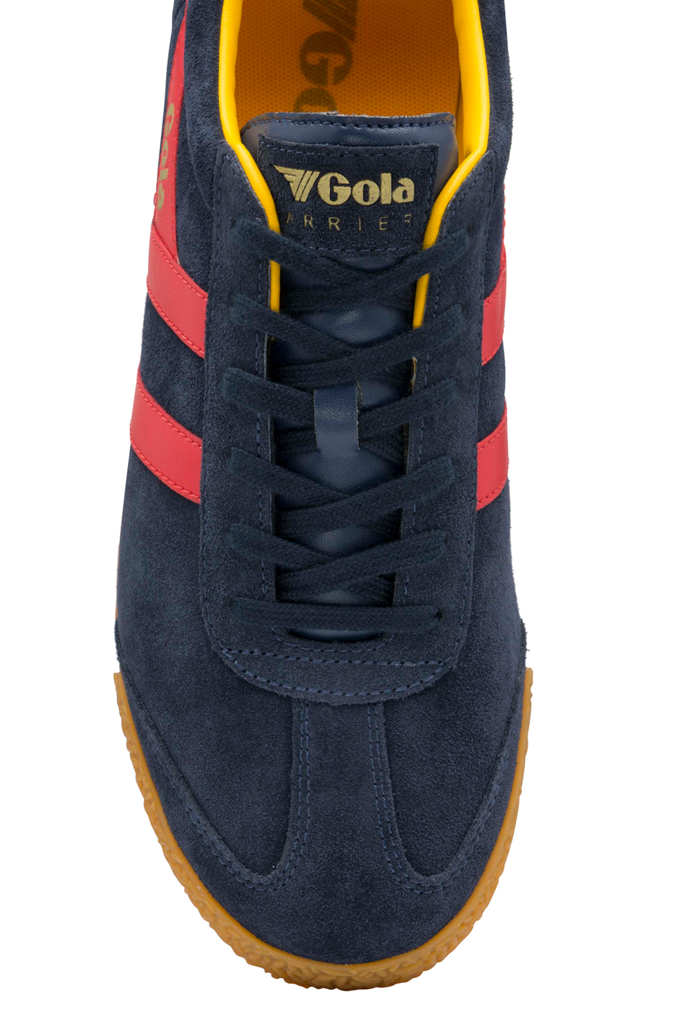 Gola-Harrier-Suede-Classic-Vintage-Lace-Up-Sneakers-Mens-Trainers-Low-Top-Shoes thumbnail 21