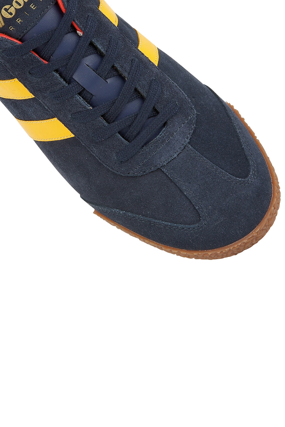 Gola-Harrier-Suede-Classic-Vintage-Lace-Up-Sneakers-Mens-Trainers-Low-Top-Shoes thumbnail 12