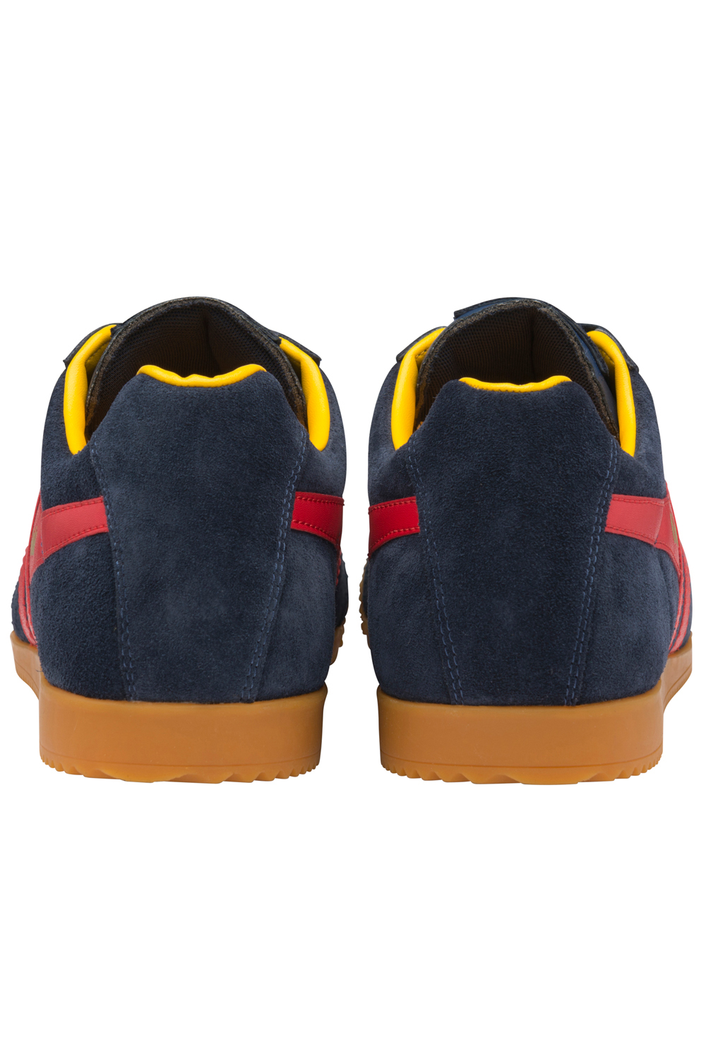 Gola-Harrier-Suede-Classic-Vintage-Lace-Up-Sneakers-Mens-Trainers-Low-Top-Shoes thumbnail 23