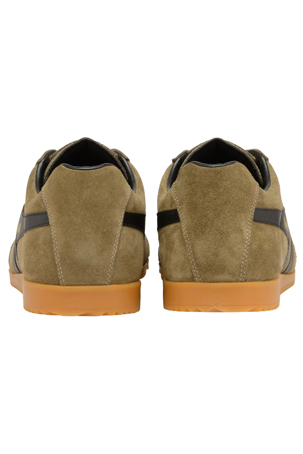 Gola-Harrier-Suede-Classic-Vintage-Lace-Up-Sneakers-Mens-Trainers-Low-Top-Shoes thumbnail 10