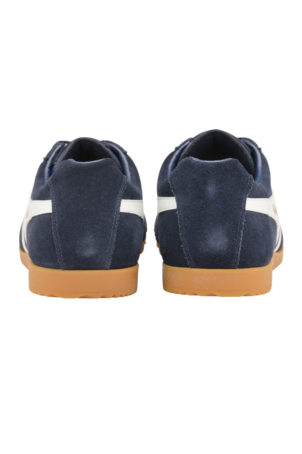 Gola-Harrier-Suede-Classic-Vintage-Lace-Up-Sneakers-Mens-Trainers-Low-Top-Shoes thumbnail 5