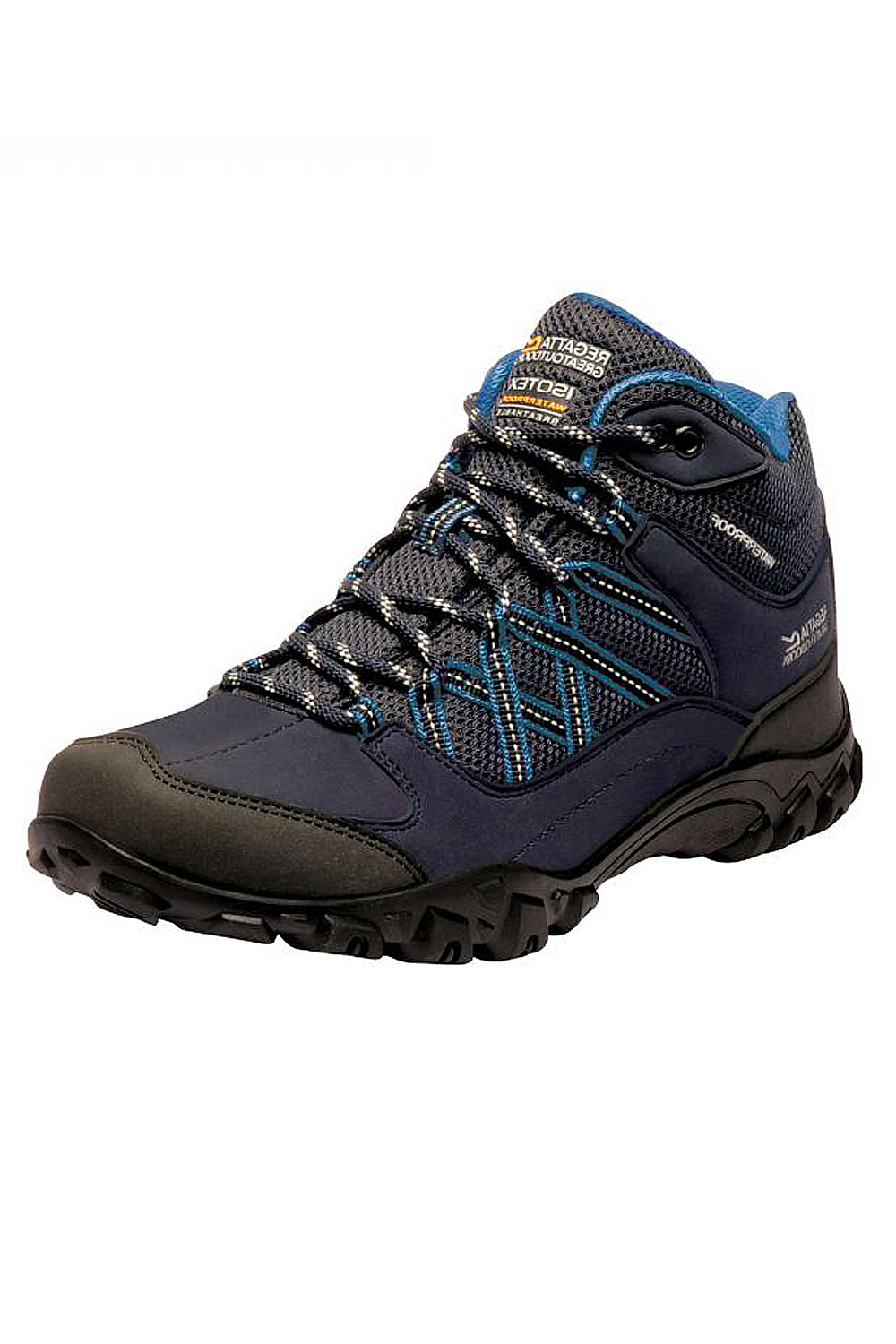 Details about Regatta Womens Edgepoint Walking & Hiking Boots For Sports Outdoors Trail Shoes