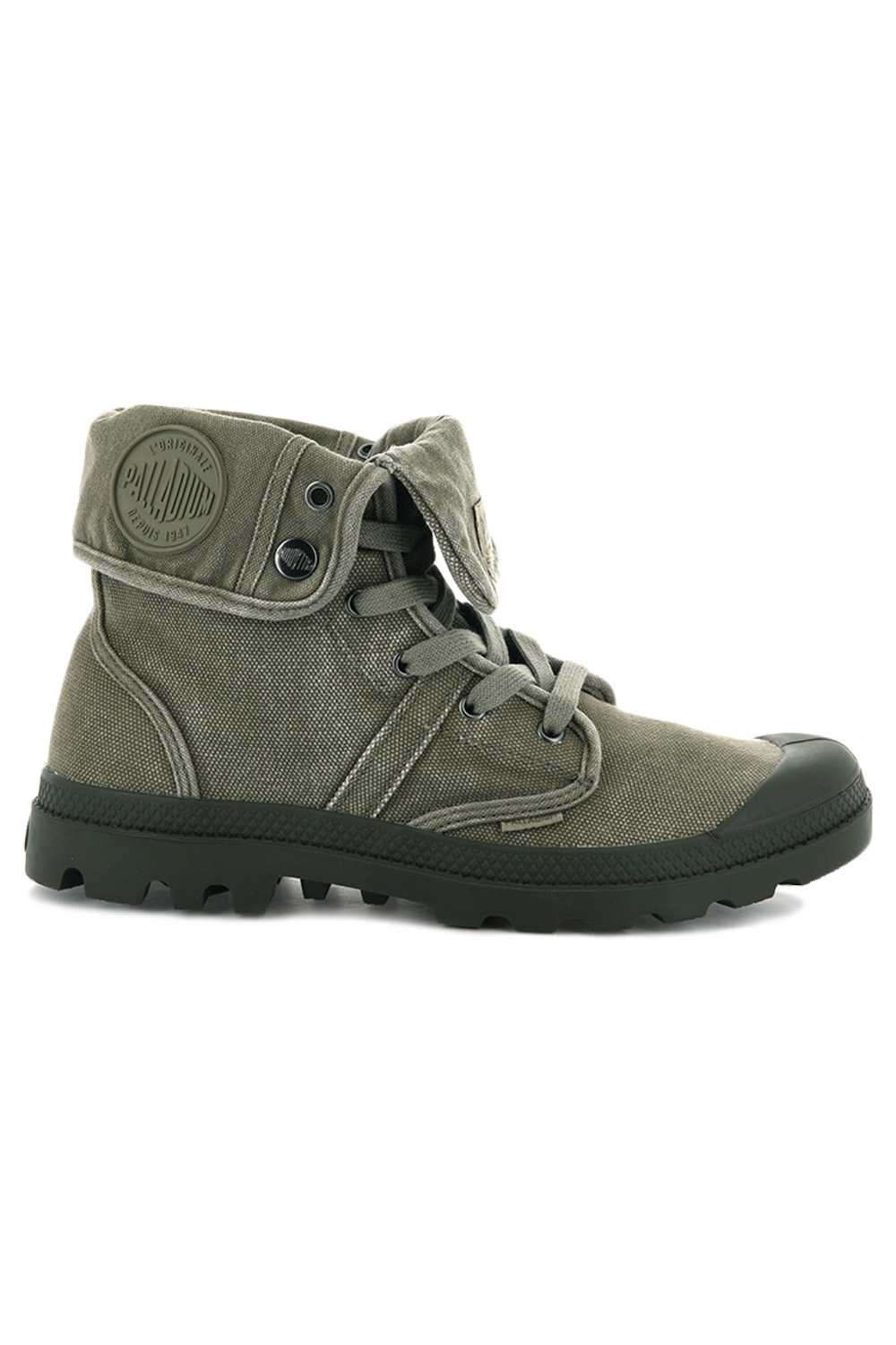 thumbnail 15 - Palladium Mens Pallabrouse Baggy Combat Military Desert Canvas Ankle Boots