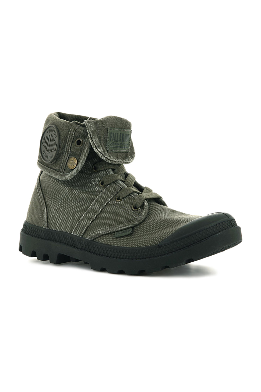 thumbnail 21 - Palladium Mens Pallabrouse Baggy Combat Military Desert Canvas Ankle Boots