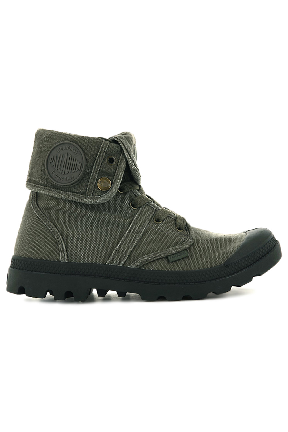thumbnail 22 - Palladium Mens Pallabrouse Baggy Combat Military Desert Canvas Ankle Boots