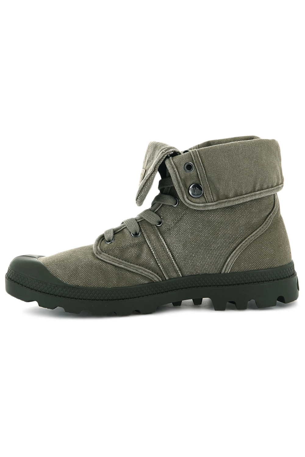 thumbnail 16 - Palladium Mens Pallabrouse Baggy Combat Military Desert Canvas Ankle Boots