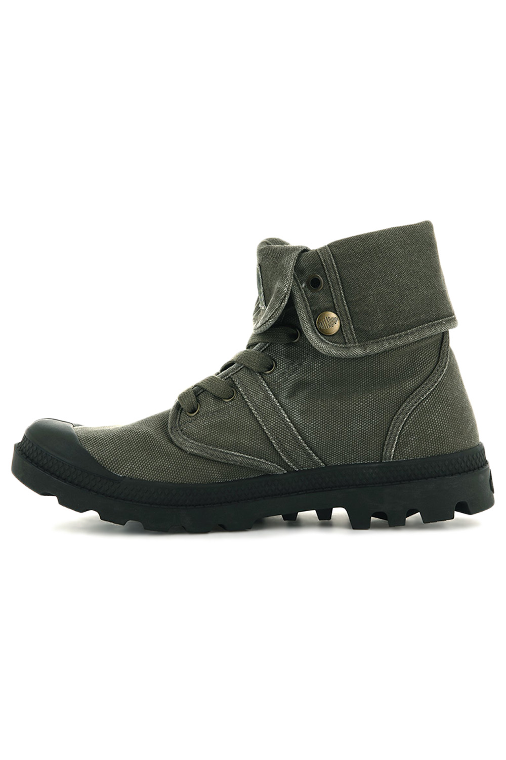 thumbnail 23 - Palladium Mens Pallabrouse Baggy Combat Military Desert Canvas Ankle Boots