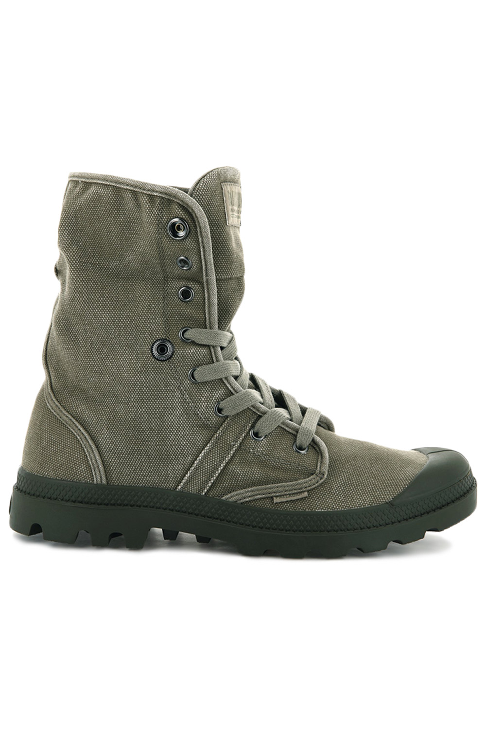 thumbnail 17 - Palladium Mens Pallabrouse Baggy Combat Military Desert Canvas Ankle Boots