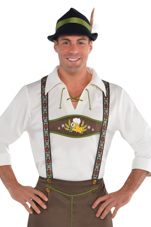 mens mr oktoberfest fancy dress costume new german. Black Bedroom Furniture Sets. Home Design Ideas