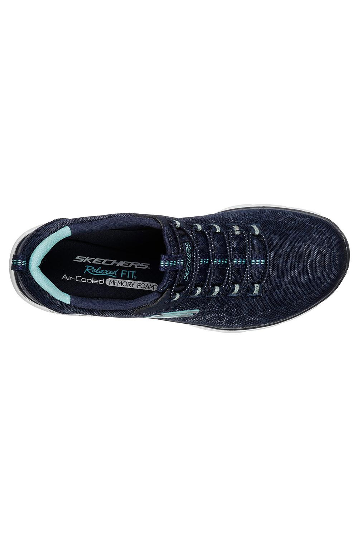 Skechers-Womens-Imperio-d-039-lux-manchado-de-espuma-de-memoria-entrenadores-Acolchada-Athletic miniatura 5