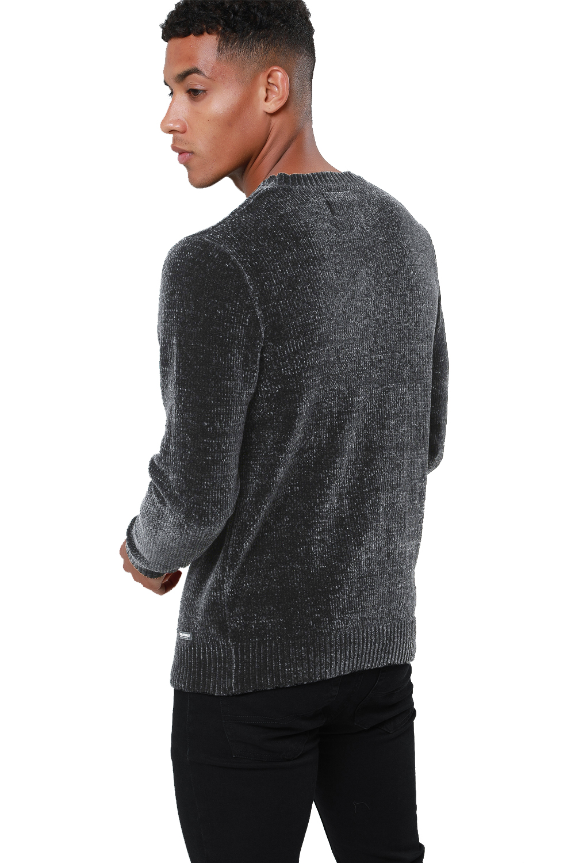 Threadbare-Mens-Chenille-Knitted-Jumper-Crew-Neck-Winter-Sweater-Pullover-Top thumbnail 15