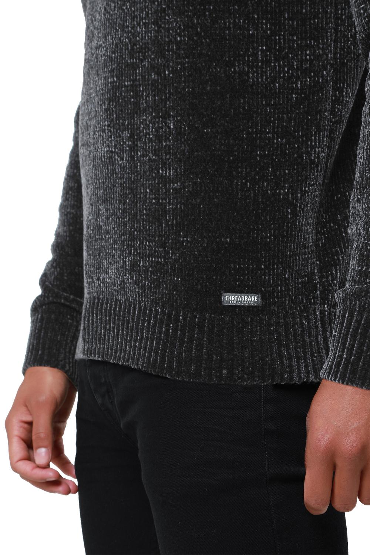 Threadbare-Mens-Chenille-Knitted-Jumper-Crew-Neck-Winter-Sweater-Pullover-Top thumbnail 16