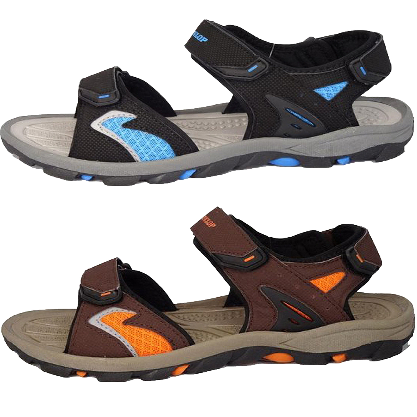 Uomo Sandali sportivi DUNLOP DUE BARRA trekking scarpe vacanza in spiaggia