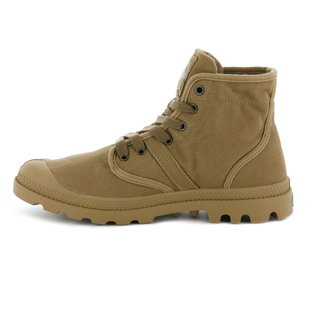 Palladium-Mens-Shoe-Pallabrouse-New-Designer-Walking-High-Top-Canvas-Ankle-Boots thumbnail 3
