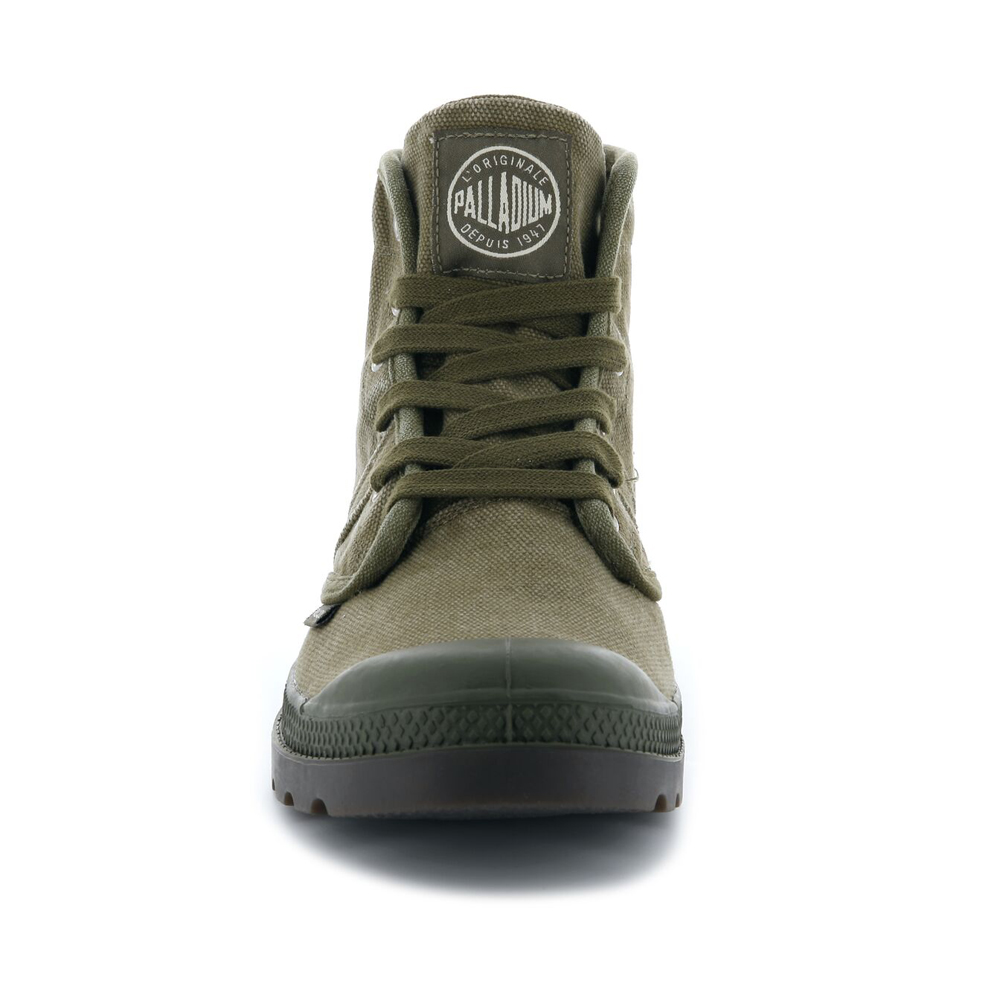 Palladium-Mens-Shoe-Pallabrouse-New-Designer-Walking-High-Top-Canvas-Ankle-Boots thumbnail 10
