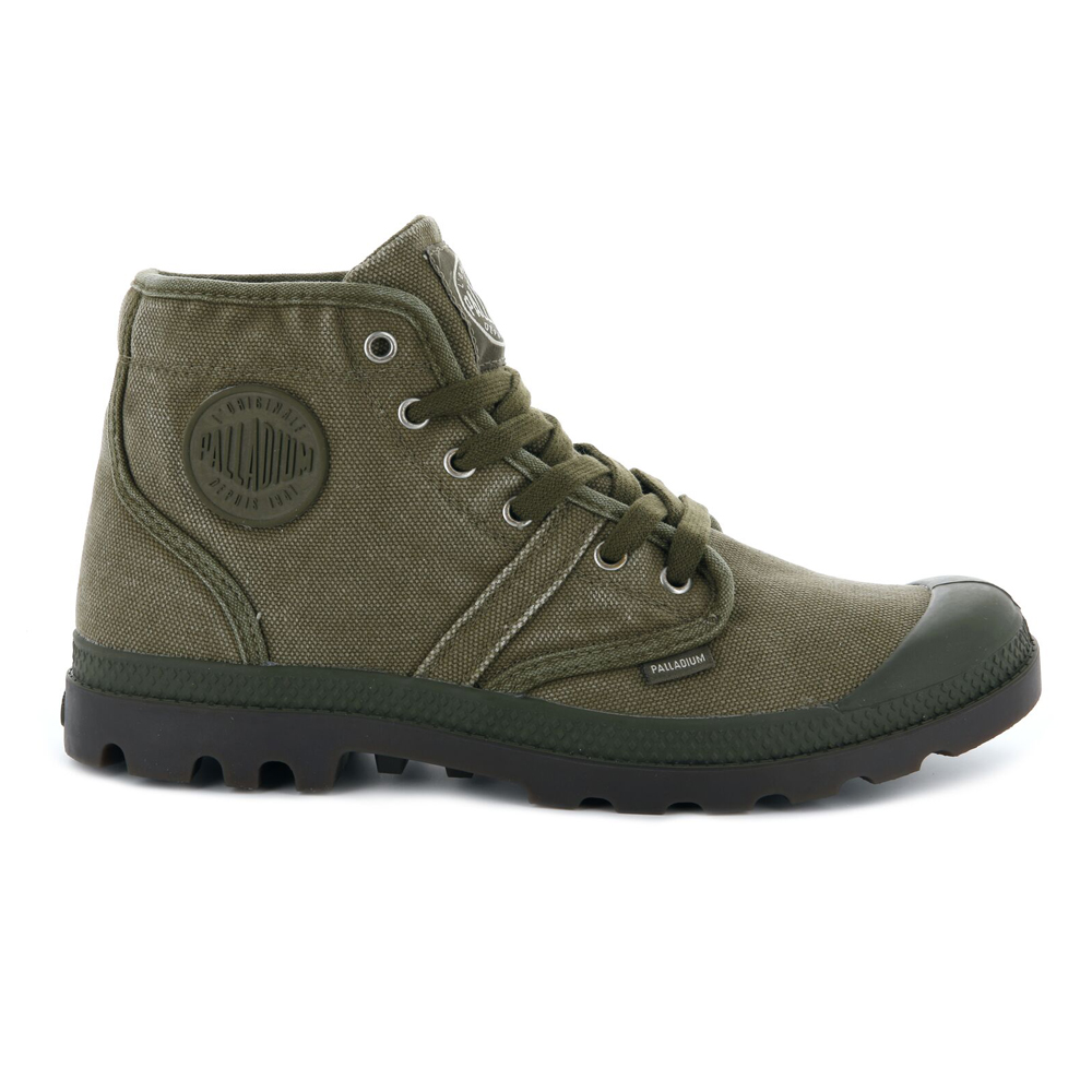 Palladium-Mens-Shoe-Pallabrouse-New-Designer-Walking-High-Top-Canvas-Ankle-Boots thumbnail 9