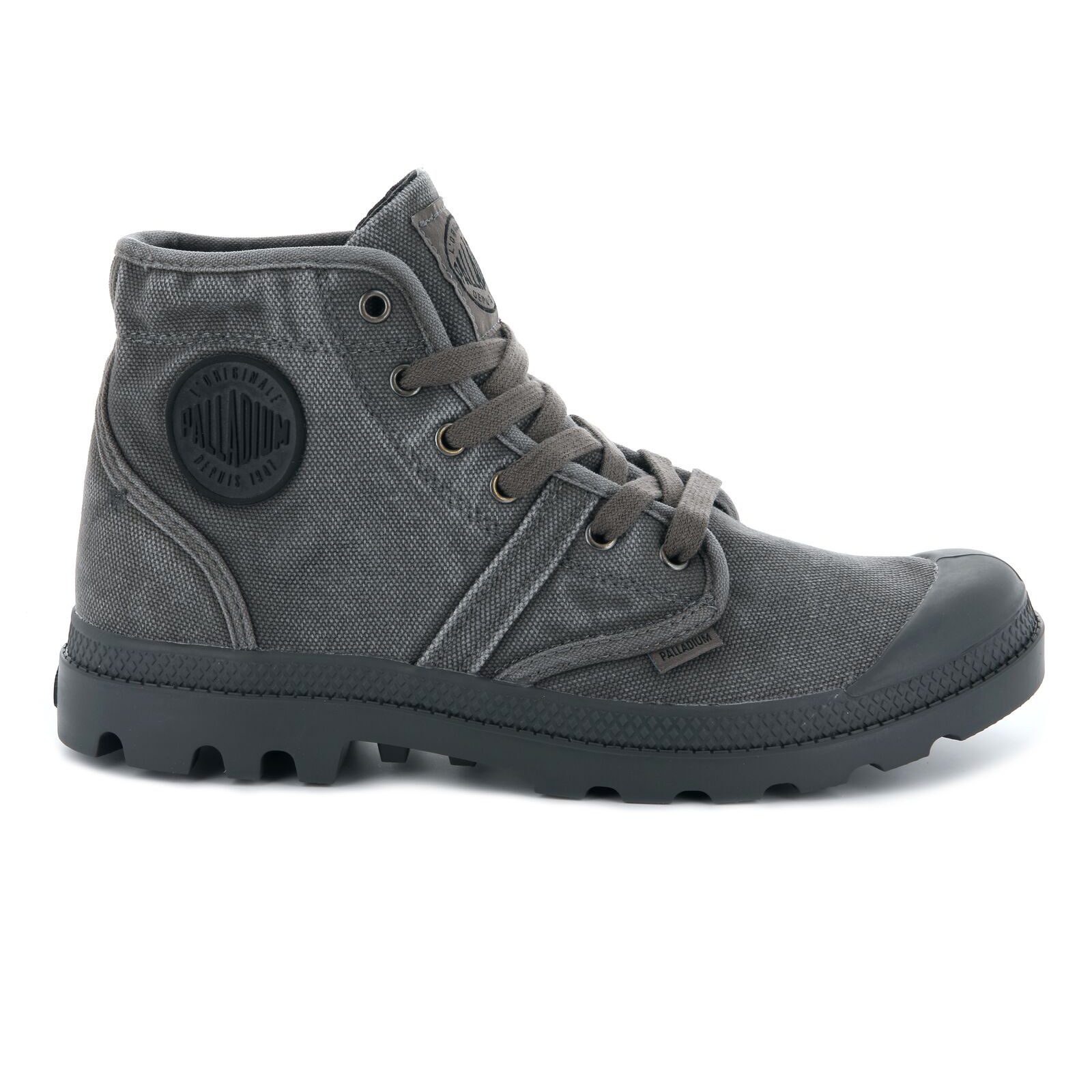 Palladium-Mens-Shoe-Pallabrouse-New-Designer-Walking-High-Top-Canvas-Ankle-Boots thumbnail 14