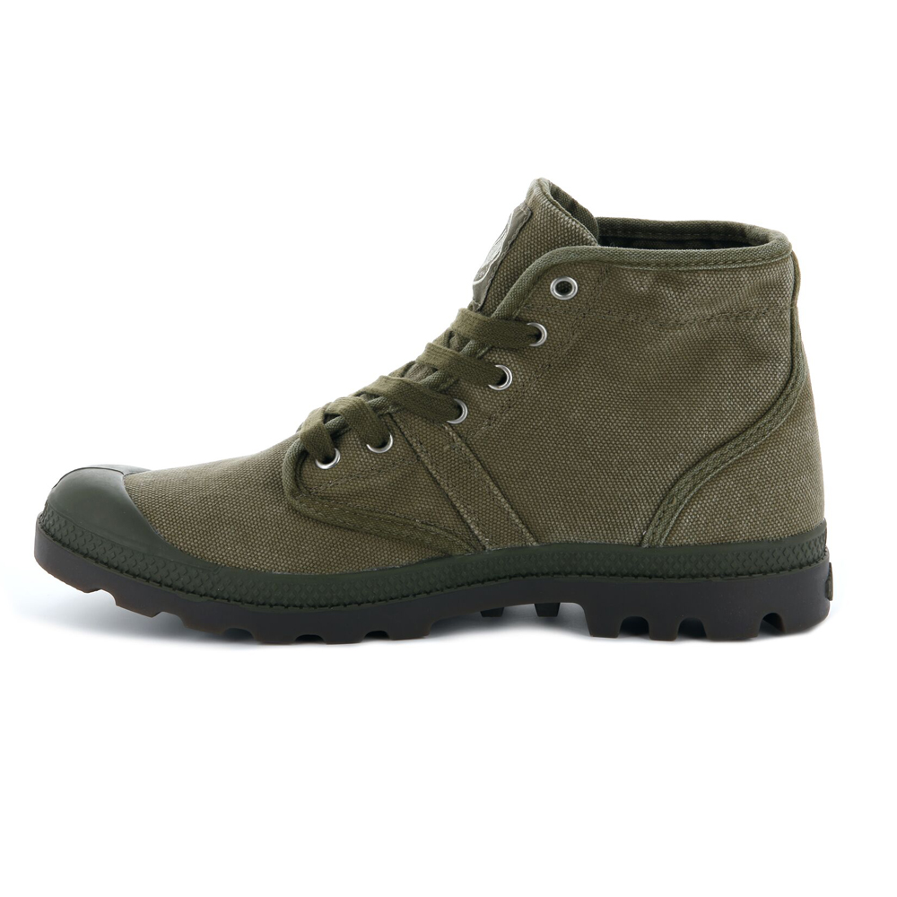 Palladium-Mens-Shoe-Pallabrouse-New-Designer-Walking-High-Top-Canvas-Ankle-Boots thumbnail 8