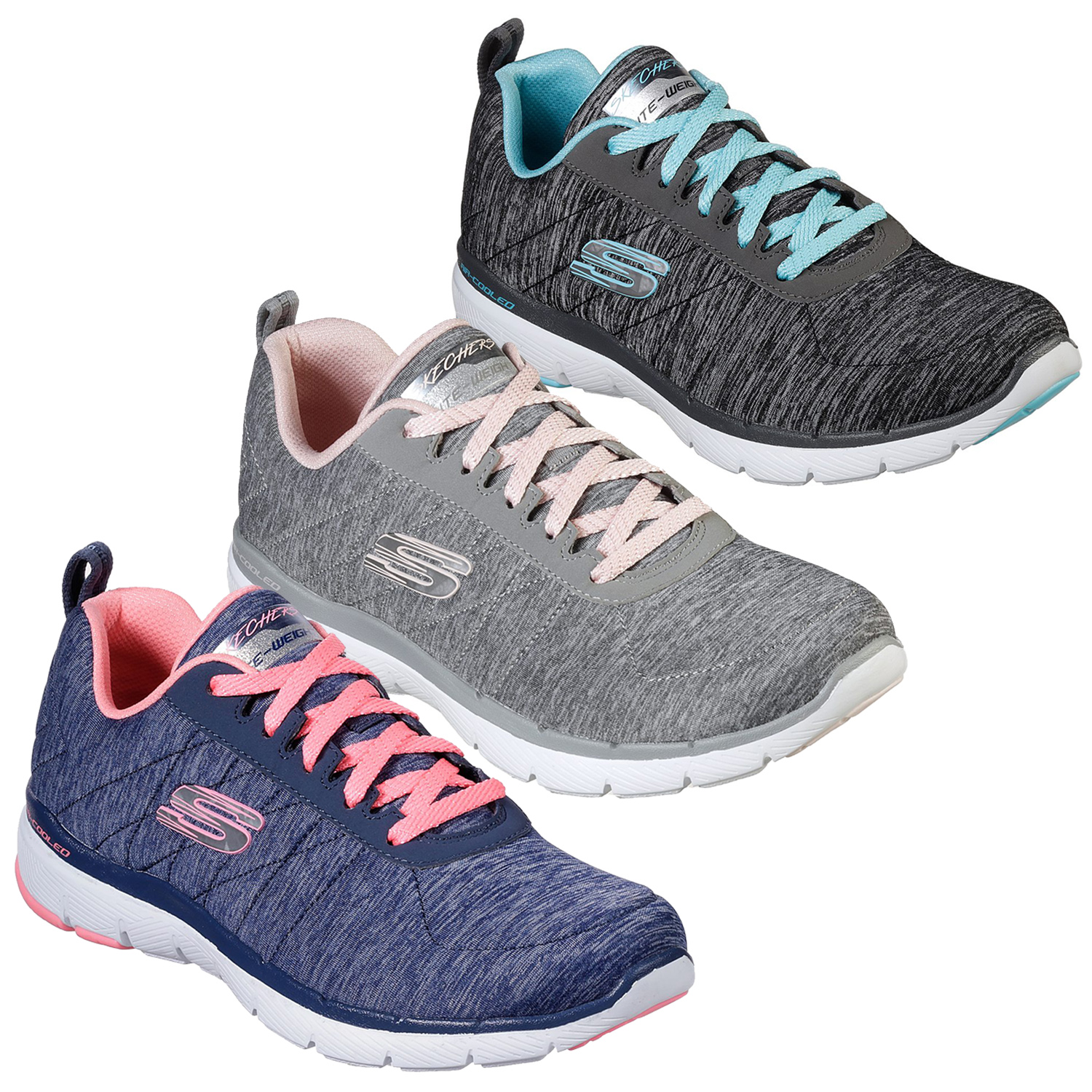 skechers lightweight memory foam womens