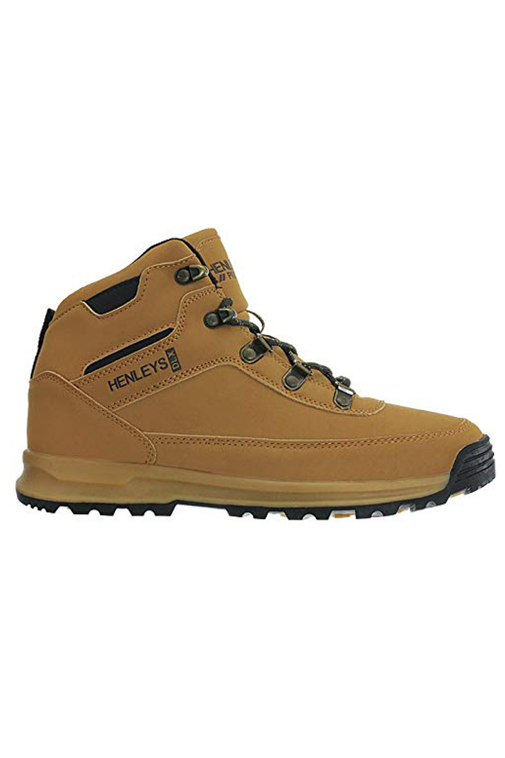 Henleys-Mens-Travis-Hiking-Boots-Walking-Lace-Up-Outdoor-Shoes-Sizes-UK-6-12 thumbnail 5
