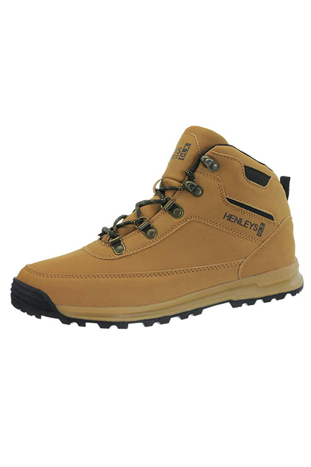 Henleys-Mens-Travis-Hiking-Boots-Walking-Lace-Up-Outdoor-Shoes-Sizes-UK-6-12 thumbnail 4