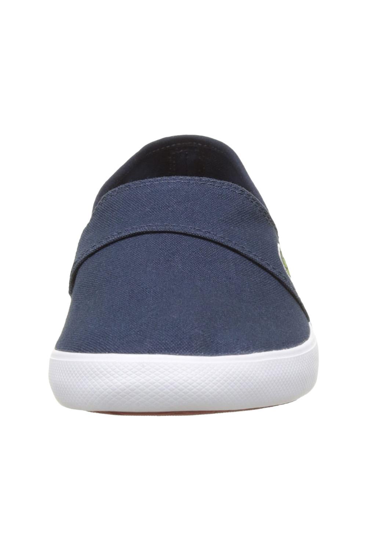 miniature 18 - Homme Lacoste Marice Lacet Toile Chaussures Décontractées Confortable Tennis Escarpins
