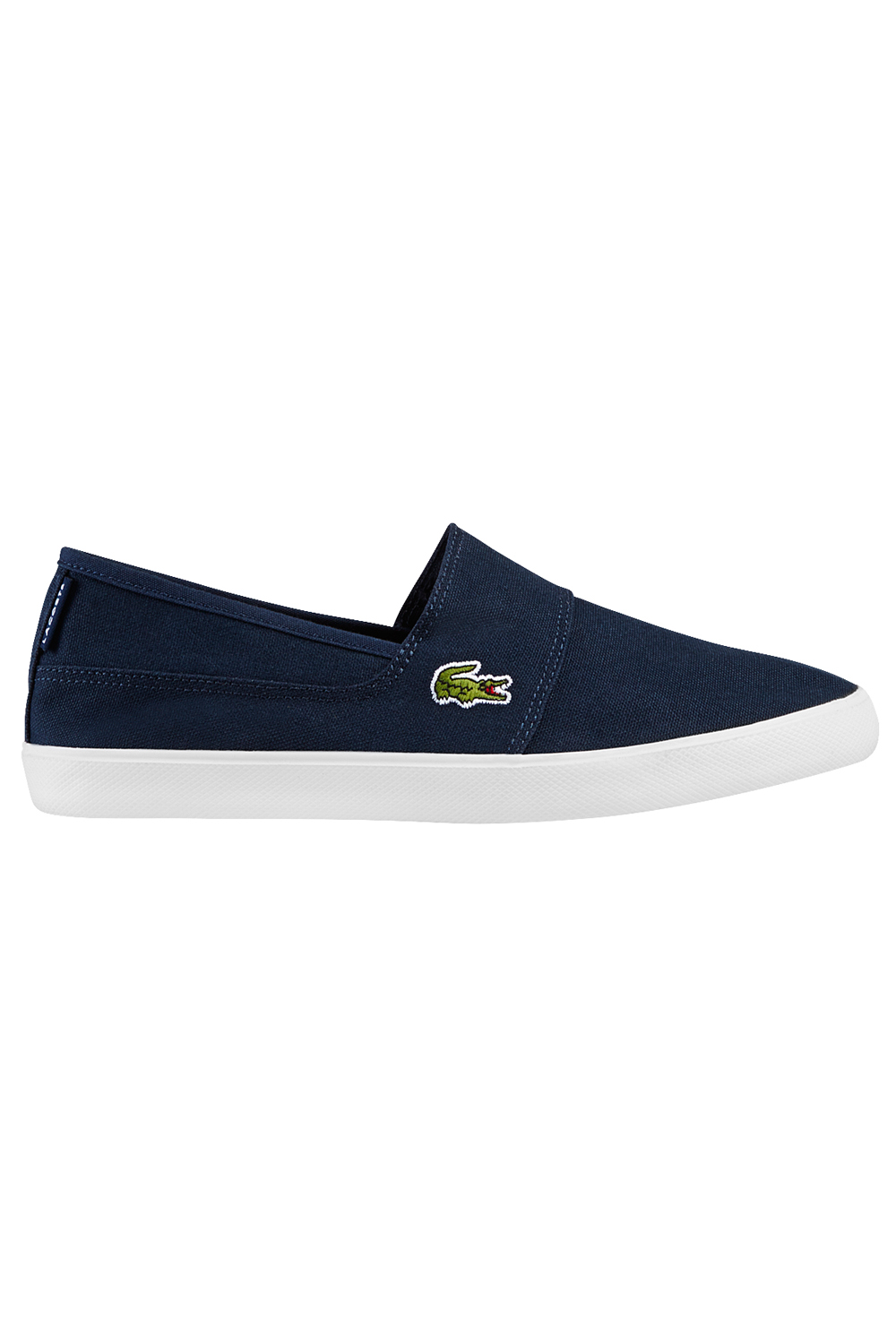 miniature 6 - Homme-Lacoste-Marice-Lacet-Toile-Chaussures-Decontractees-Confortable-Tennis-Escarpins