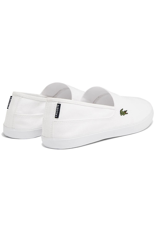 miniature 11 - Homme Lacoste Marice Lacet Toile Chaussures Décontractées Confortable Tennis Escarpins
