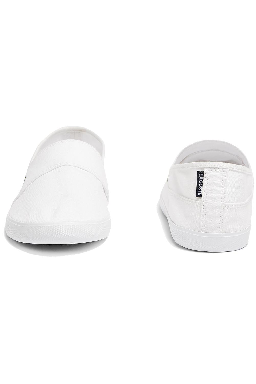 miniature 13 - Homme Lacoste Marice Lacet Toile Chaussures Décontractées Confortable Tennis Escarpins