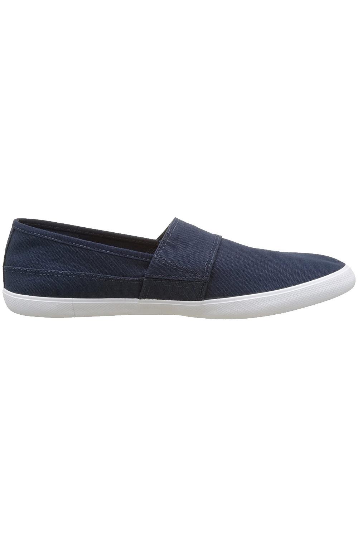 miniature 17 - Homme Lacoste Marice Lacet Toile Chaussures Décontractées Confortable Tennis Escarpins