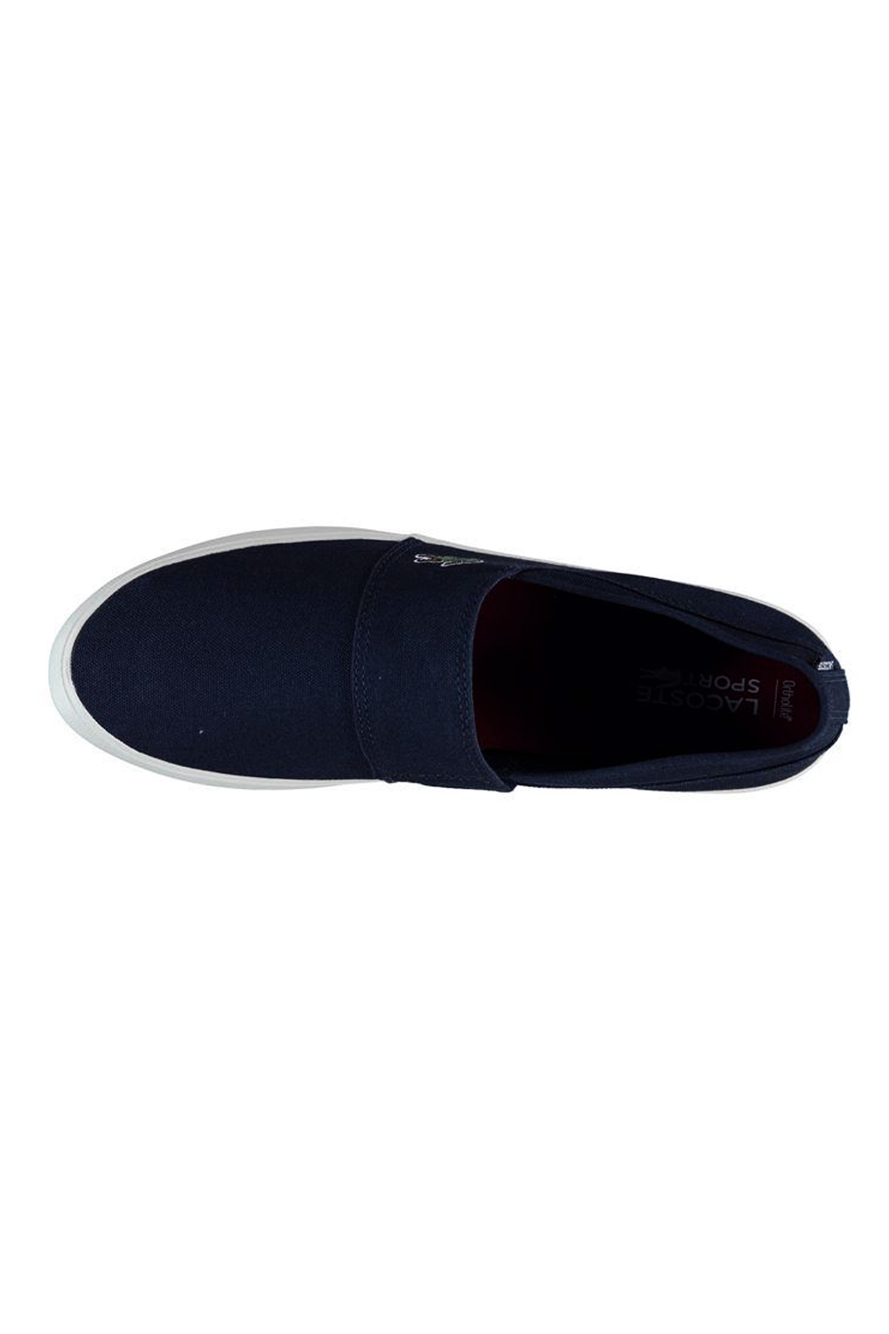 miniature 7 - Homme-Lacoste-Marice-Lacet-Toile-Chaussures-Decontractees-Confortable-Tennis-Escarpins
