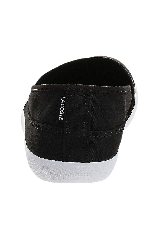 miniature 6 - Homme Lacoste Marice Lacet Toile Chaussures Décontractées Confortable Tennis Escarpins