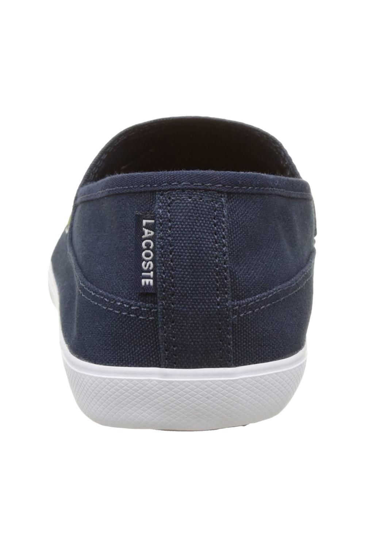 miniature 19 - Homme Lacoste Marice Lacet Toile Chaussures Décontractées Confortable Tennis Escarpins