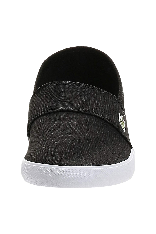 miniature 5 - Homme Lacoste Marice Lacet Toile Chaussures Décontractées Confortable Tennis Escarpins