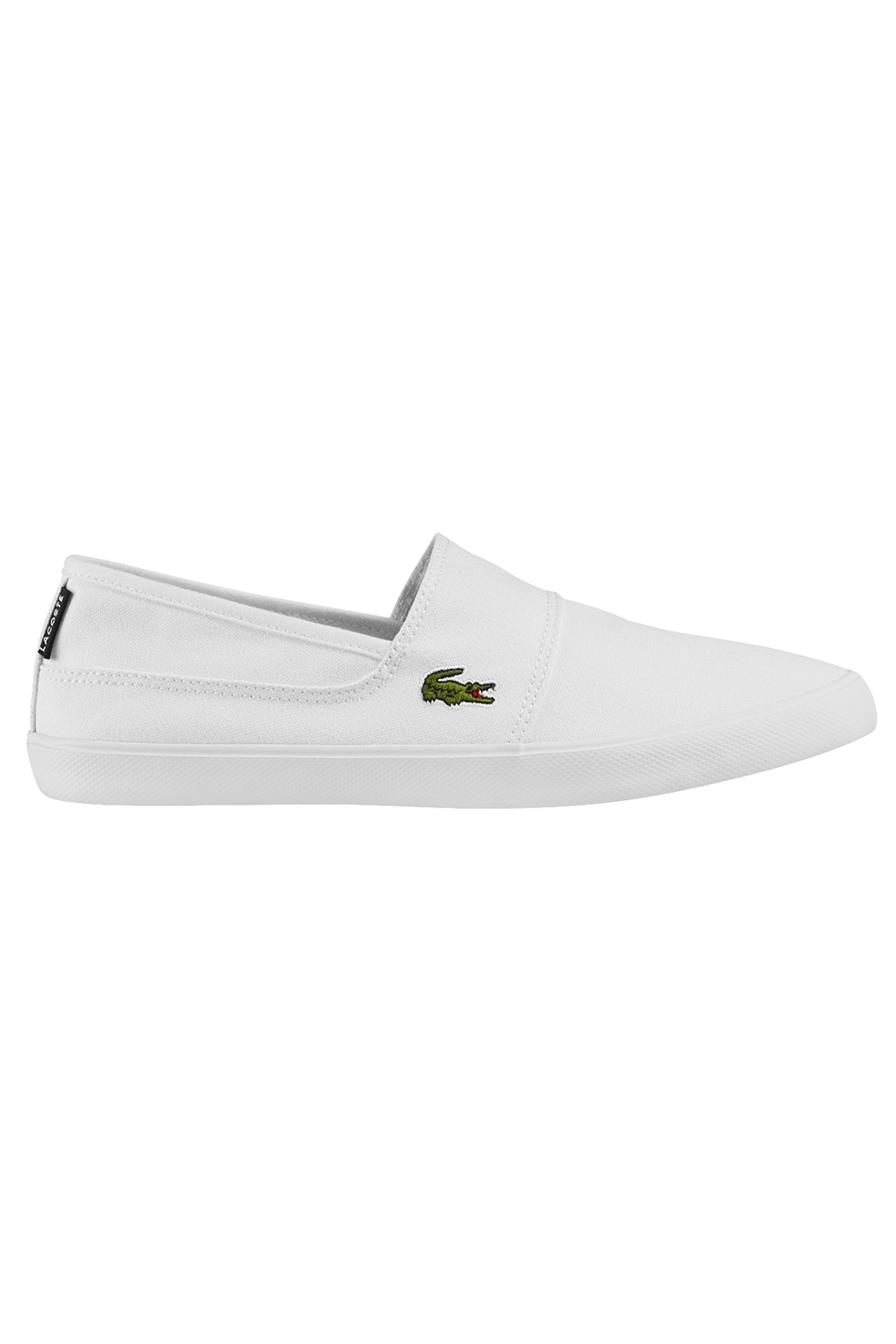 miniature 3 - Homme-Lacoste-Marice-Lacet-Toile-Chaussures-Decontractees-Confortable-Tennis-Escarpins