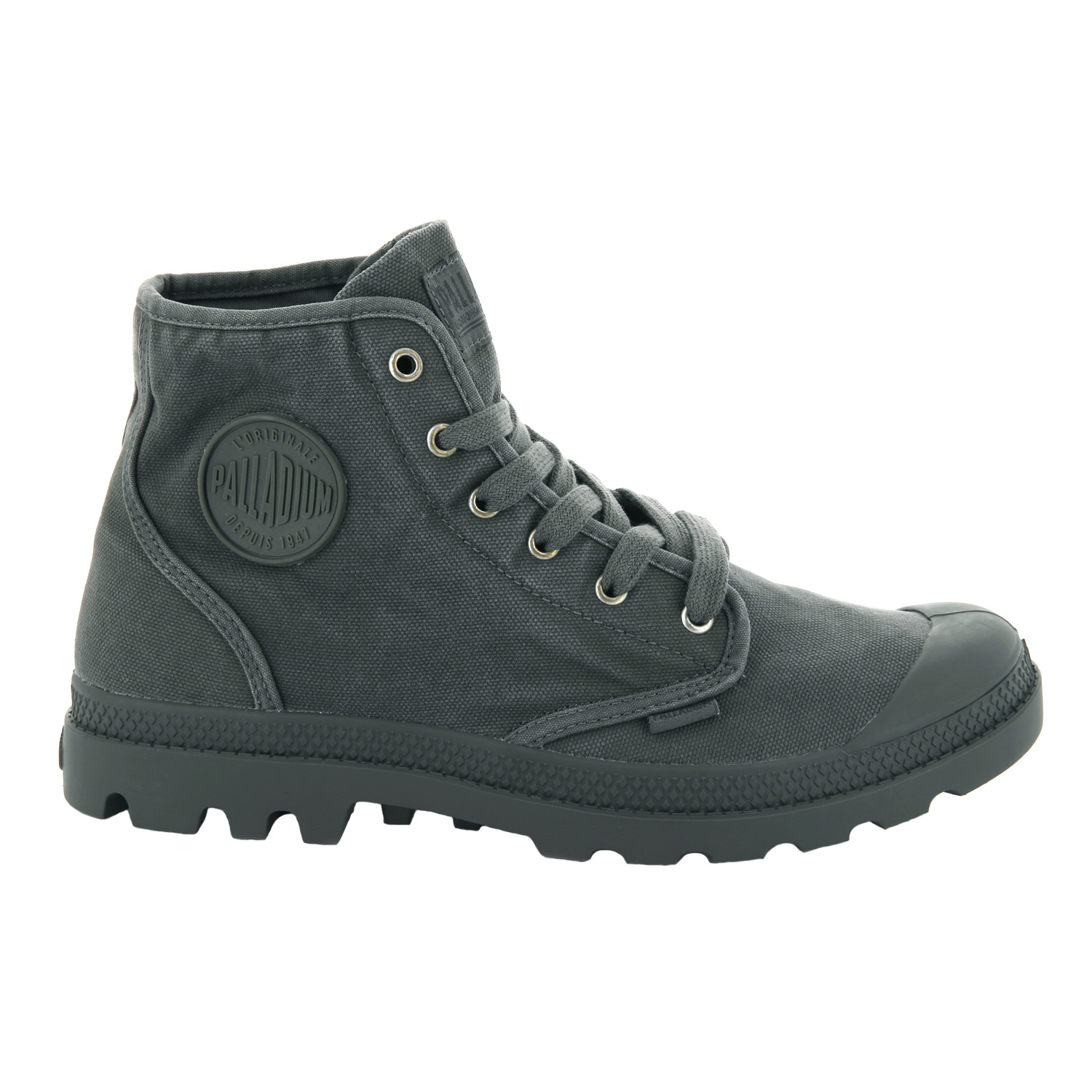 Palladium-Mens-Pampa-Hi-Canvas-Shoes-Casual-Walking-High-Top-Lace-Up-Ankle-Boots thumbnail 44