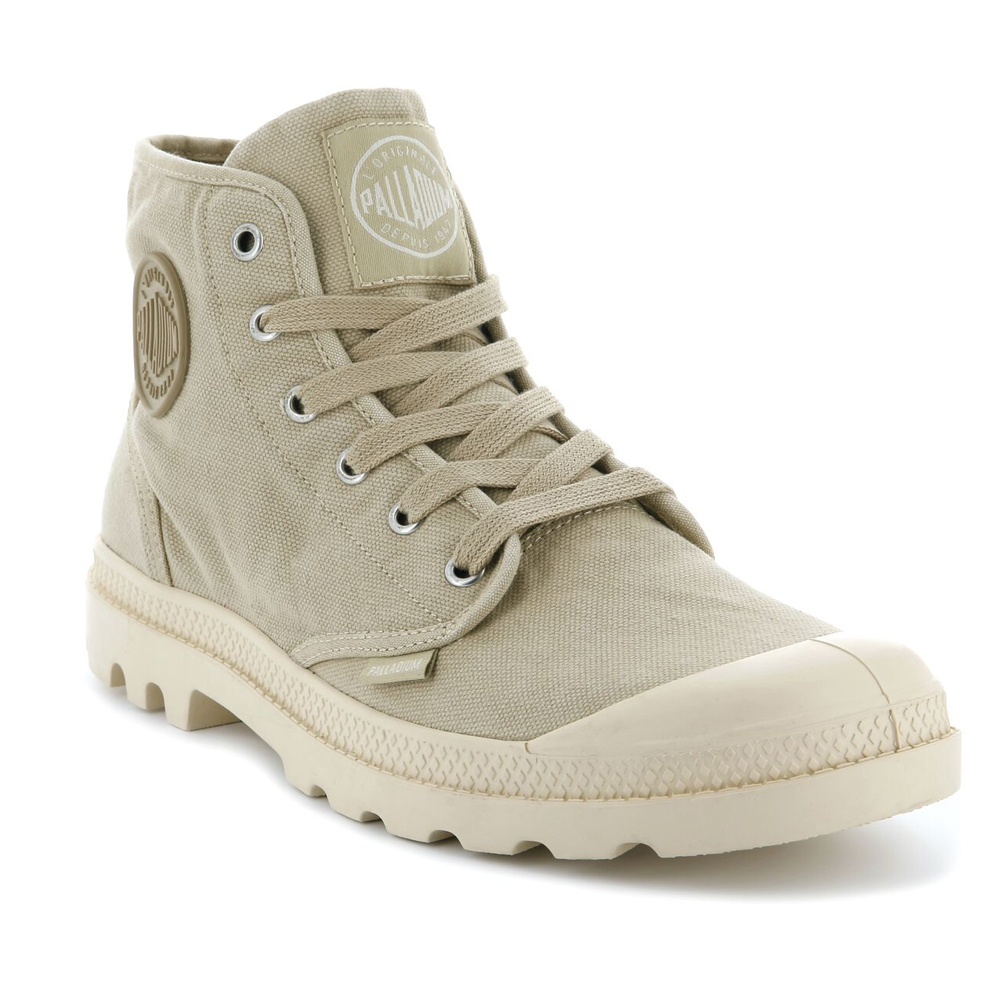 Palladium  Uomo Schuhes Pampa Hi Canvas Lace New Walking High Top Lace Canvas Up Ankle Stiefel 4c4ed8