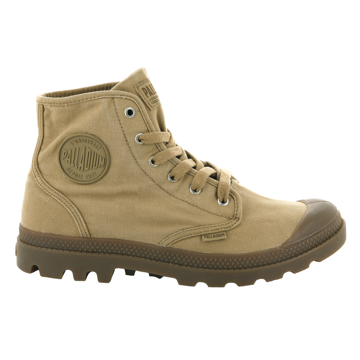Palladium-Mens-Pampa-Hi-Canvas-Shoes-Casual-Walking-High-Top-Lace-Up-Ankle-Boots thumbnail 48