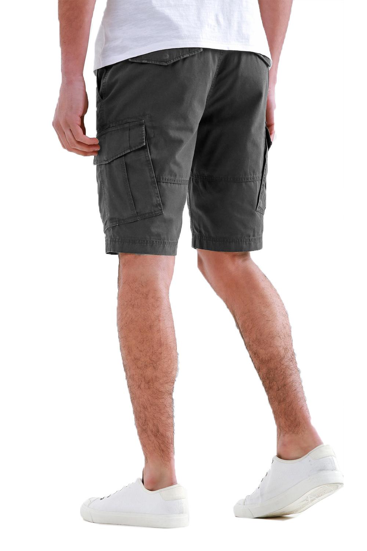 Threadbare-Mens-Hulk-Cotton-Cargo-Shorts-Summer-Multi-Pocket-Knee-Length-Bottoms thumbnail 12