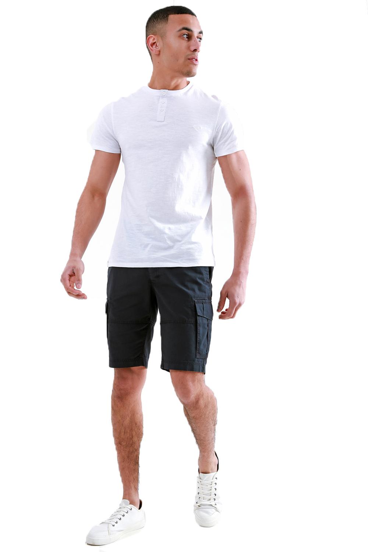 Threadbare-Mens-Hulk-Cotton-Cargo-Shorts-Summer-Multi-Pocket-Knee-Length-Bottoms thumbnail 4