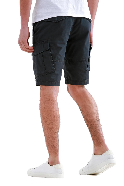 Threadbare-Mens-Hulk-Cotton-Cargo-Shorts-Summer-Multi-Pocket-Knee-Length-Bottoms thumbnail 5