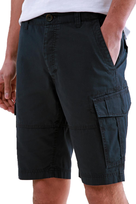 Threadbare-Mens-Hulk-Cotton-Cargo-Shorts-Summer-Multi-Pocket-Knee-Length-Bottoms thumbnail 3