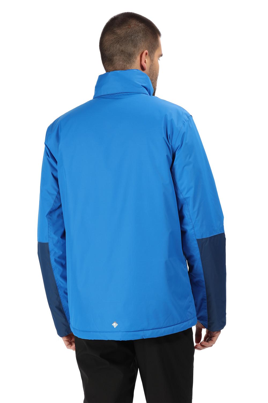 Regatta-Mens-Fabens-Raincoat-Waterproof-Insulated-Thermal-Breathable-Jacket-Coat thumbnail 9