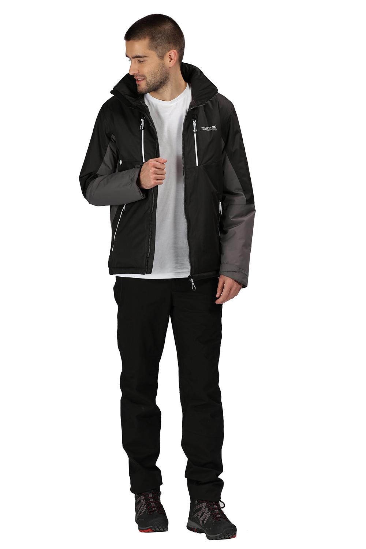 Regatta-Mens-Fabens-Raincoat-Waterproof-Insulated-Thermal-Breathable-Jacket-Coat thumbnail 19