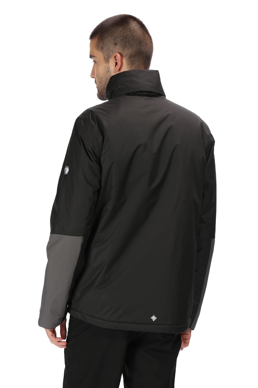 Regatta-Mens-Fabens-Raincoat-Waterproof-Insulated-Thermal-Breathable-Jacket-Coat thumbnail 23