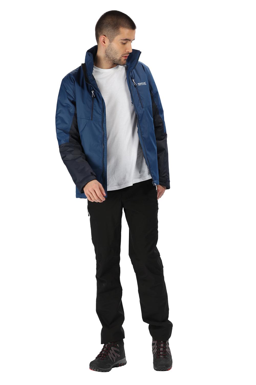 Regatta-Mens-Fabens-Raincoat-Waterproof-Insulated-Thermal-Breathable-Jacket-Coat thumbnail 12