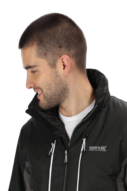 Regatta-Mens-Fabens-Raincoat-Waterproof-Insulated-Thermal-Breathable-Jacket-Coat thumbnail 20