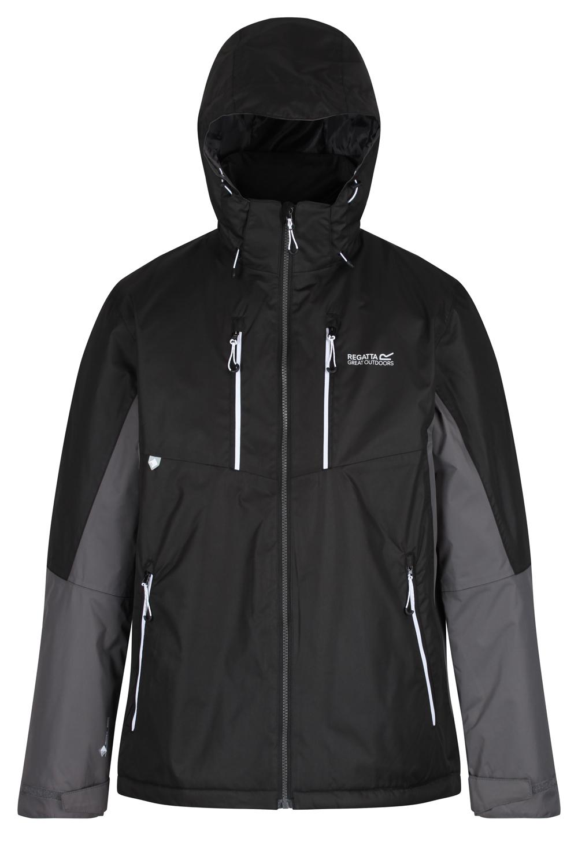 Regatta-Mens-Fabens-Raincoat-Waterproof-Insulated-Thermal-Breathable-Jacket-Coat thumbnail 22