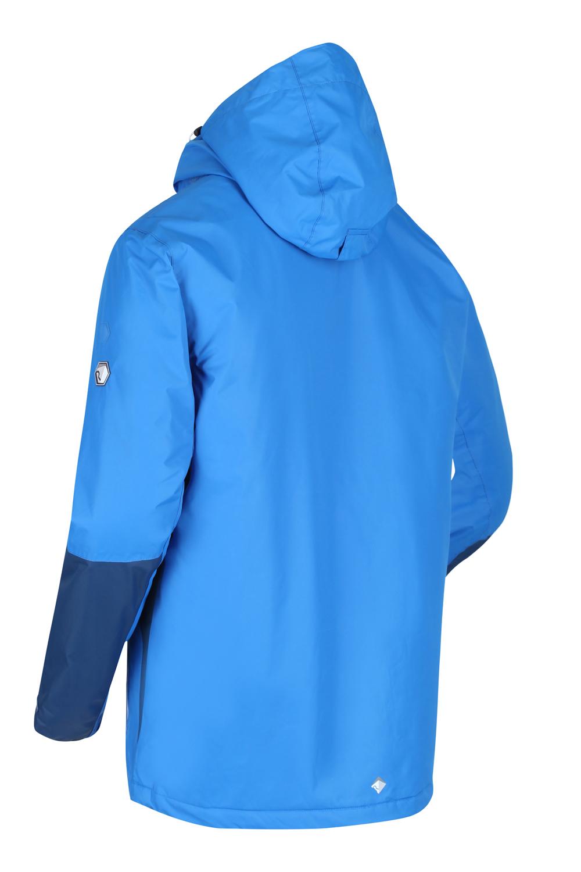 Regatta-Mens-Fabens-Raincoat-Waterproof-Insulated-Thermal-Breathable-Jacket-Coat thumbnail 8