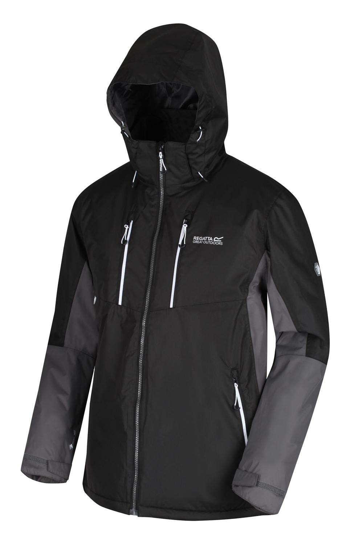 Regatta-Mens-Fabens-Raincoat-Waterproof-Insulated-Thermal-Breathable-Jacket-Coat thumbnail 21